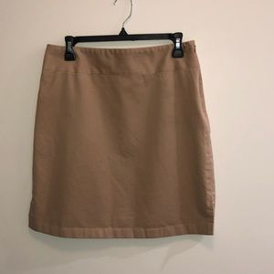 Banana Republic Classic Khaki Skirt